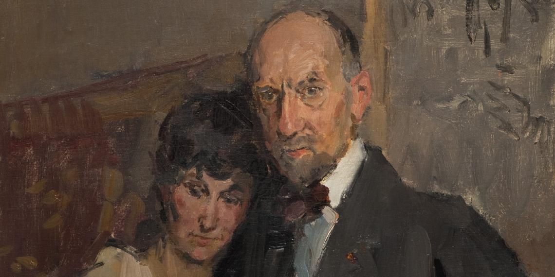 Het echtpaar Bauer
