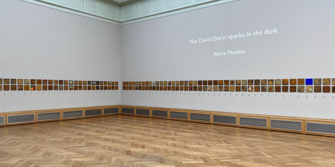 Alexx Meidam - The Covid Diary: sparks in the dark