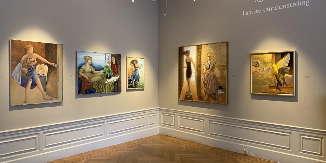 Aat Verhoog - Laatste tentoonstelling